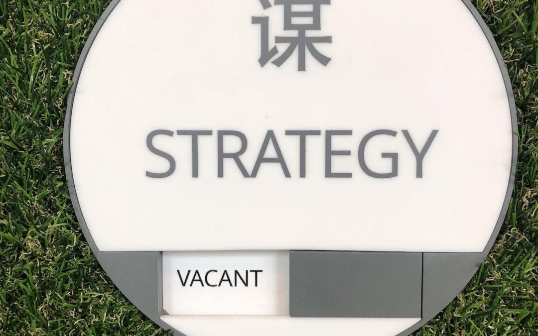 Strategy Strategy Strategy